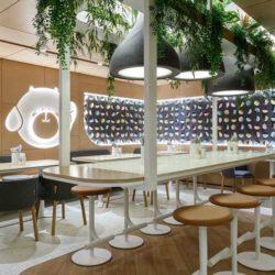 طراحی داخلی رستوران به سبک آسیایی