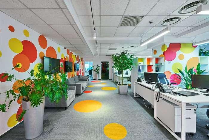 دفتر کار رنگارنگ