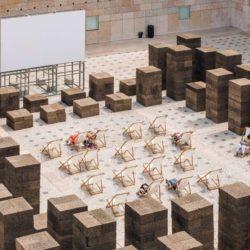 طراحی سینمای روباز تابستانه در پرتغال