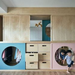 طراحی کمد تونلی برای بازی کودکان