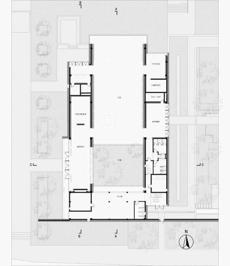 طراحی حیاط خلوت مفهومی