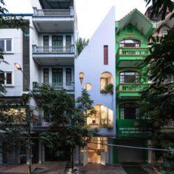 طراحی آپارتمان مسکونی سه طبقه در ویتنام