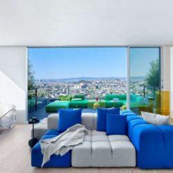 طراحی خانه با دکوراسیون شاد