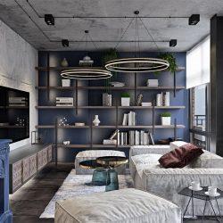 طراحی داخلی خانه به سبک مراکشی و مینیمال
