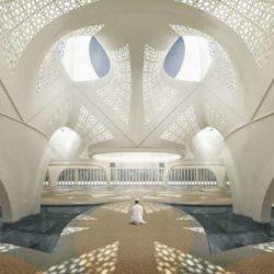 طراحی مسجد نور توسط شرکت معماری NUDES