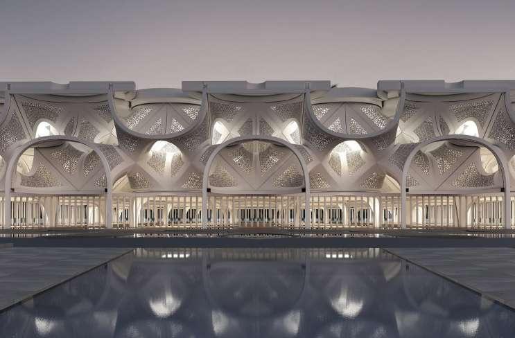 طراحی مسجد نور