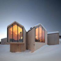 طراحی ساختمان کوهستانی