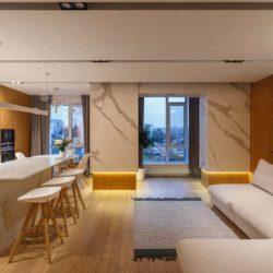طراحی خانه مدرن با فضایی برای کودکان