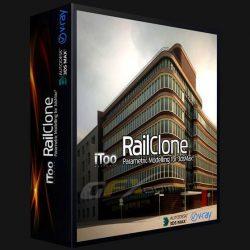 دانلود RailClone Pro –  پلاگین ایجاد تکرار و کپی در مدل سه بعدی