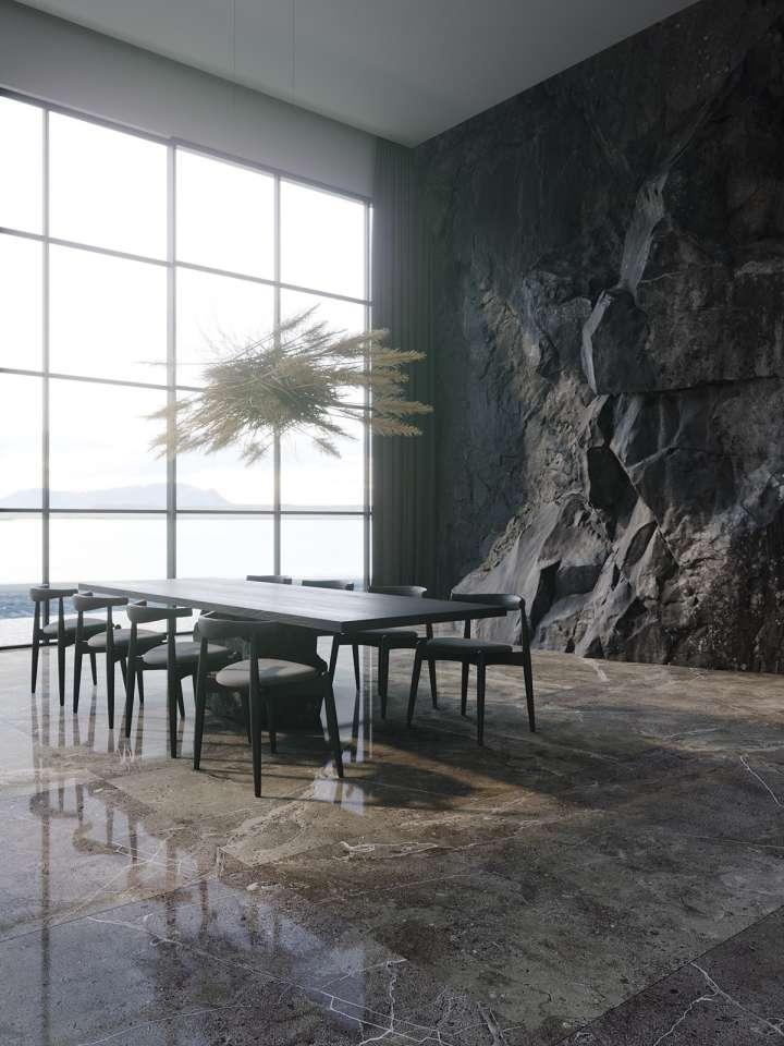 طراحی داخلی اتاق غذا خوری