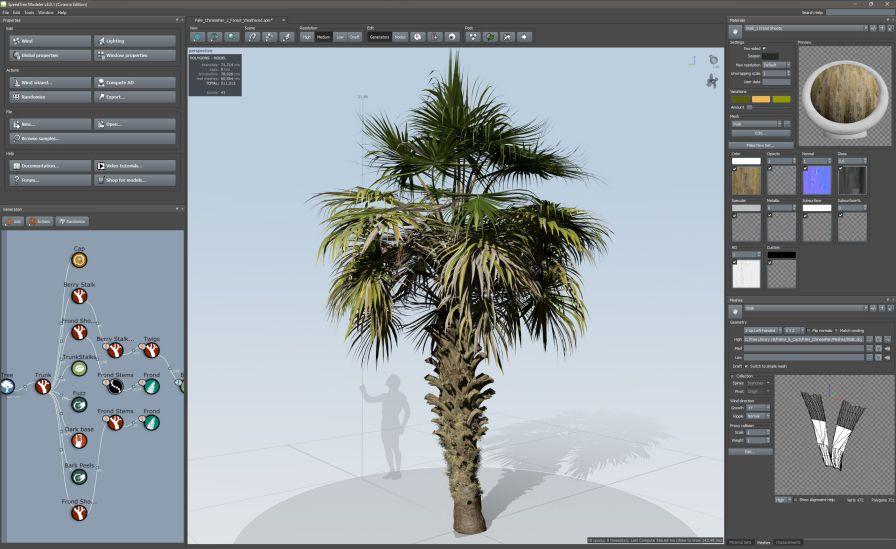 دانلود نرم افزار مدل سازی درخت