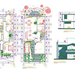 دانلود 200 پلان معماری ویلا – مجموعه 2