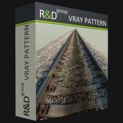 دانلود VRayPattern برای 3DS Max – پلاگین ایجاد کپی از عناصر هندسی