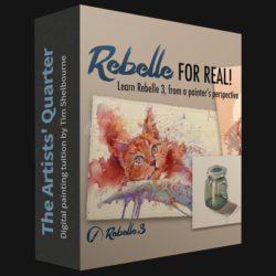 دانلود نرم افزار ترسیم اسکیس و نقاشی Rebelle
