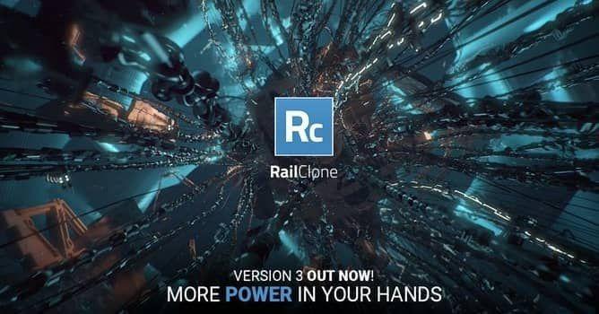 دانلود RailClone برای تری دی مکس