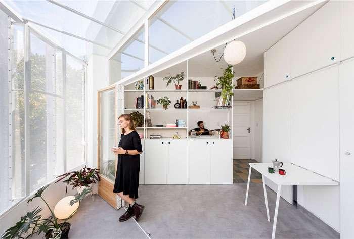 آپارتمان بسیار کوچک