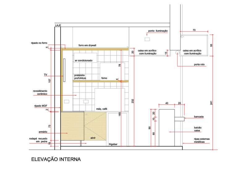 طراحی کافی شاپ در 4 متر مربع