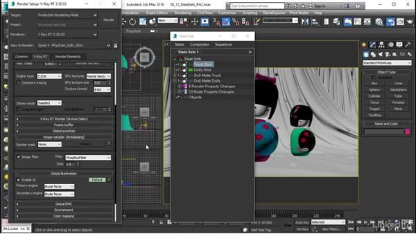 دوره Lynda V-Ray RT: Production Rendering