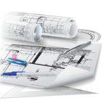 تصاویر استوک ابزار طراحی معماری