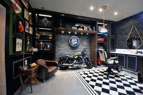 آرایشگاه مدرن مردانه