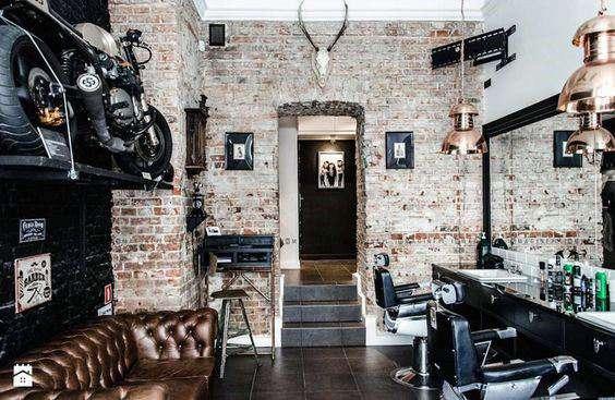 طراحی داخلی آرایشگاه مردانه