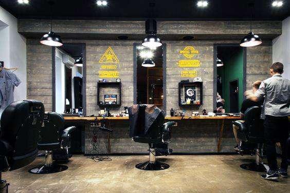 آرایشگاه مردانه