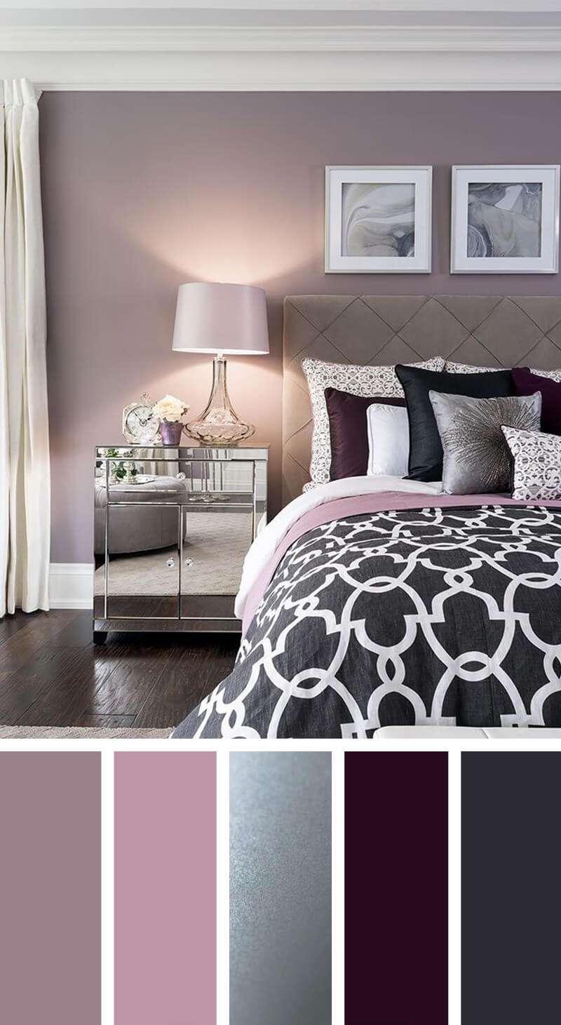 رنگ در دکوراسیون اتاق خواب