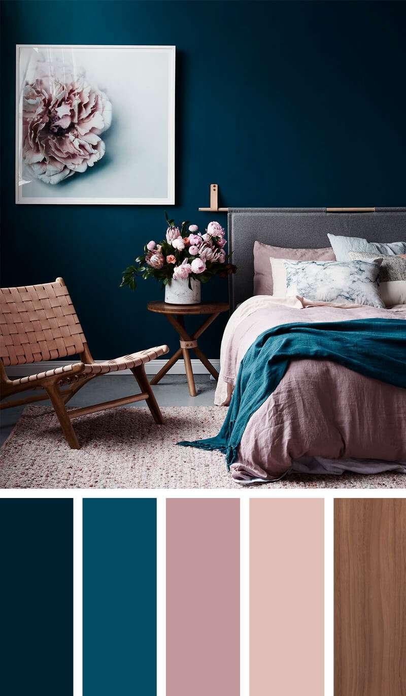 ایده ترکیب رنگ دکوراسیون اتاق خواب