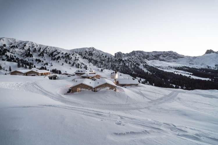 معماری اقامتگاه کوهستانی