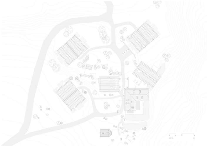 پلان هتل کوهستانی