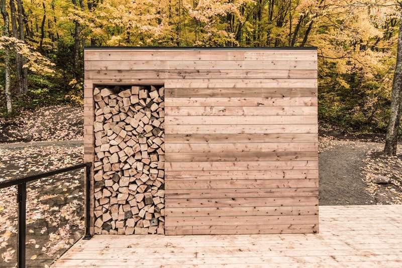 طراحی اقامتگاه جنگلی