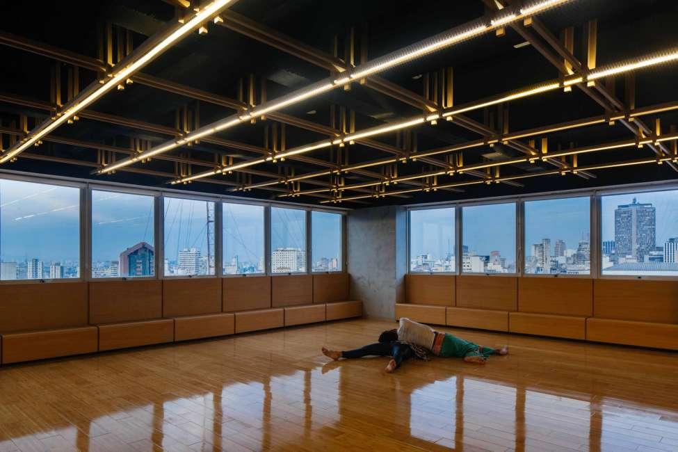 طراحی کلاس رقص