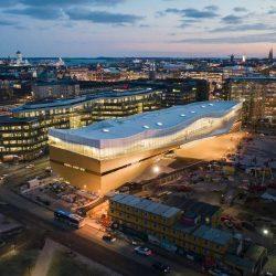 طراحی کتابخانه عمومی در فنلاند