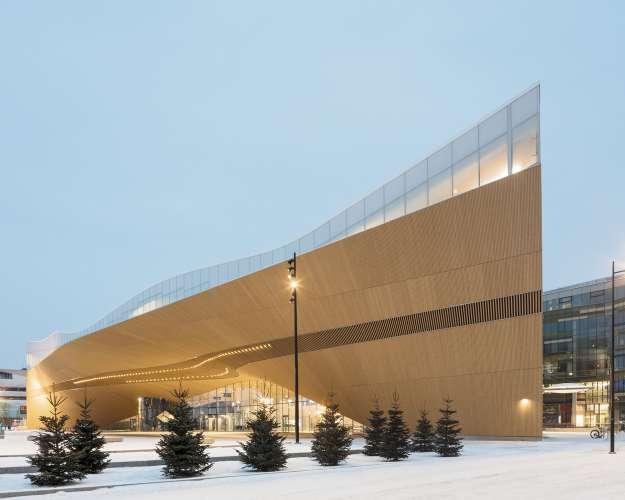 طراحی داخلی کتابخانه عمومی
