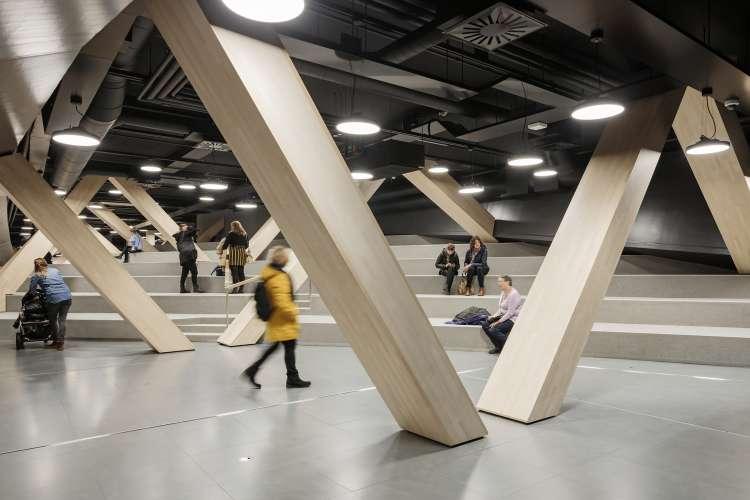 طراحی کتابخانه عمومی