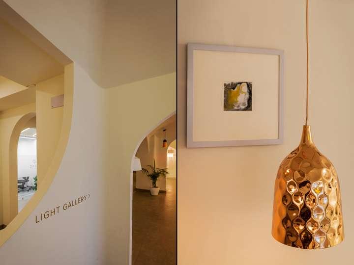 طراحی داخلی گالری