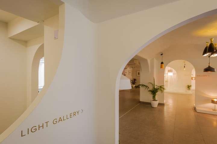 دکوراسیون گالری هنری