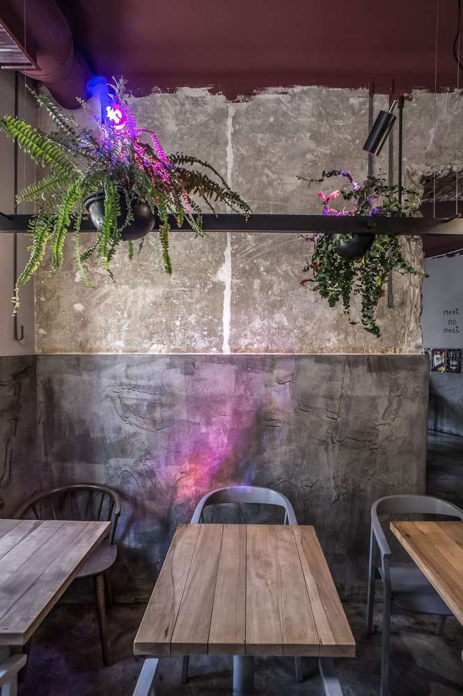 طراحی رستوران گیاهخواران