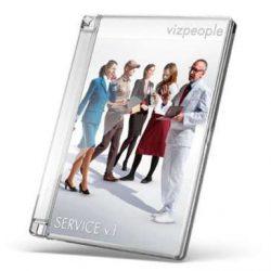 پرسوناژ در هنگام کار – دانلود رایگان Service v1 از Viz-People