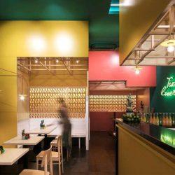 طراحی رستوران مکزیکی