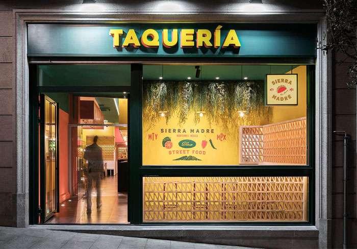 دکوراسیون رستوران مکزیکی