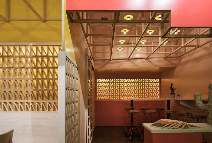 طراحی داخلی رستوران مکزیکی