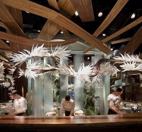 طراحی رستوران ژاپنی