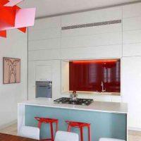 دکوراسیون آشپزخانه با فضای کم