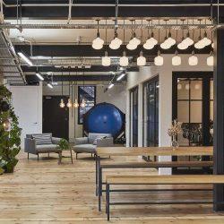بازسازی و طراحی ساختمان اداری