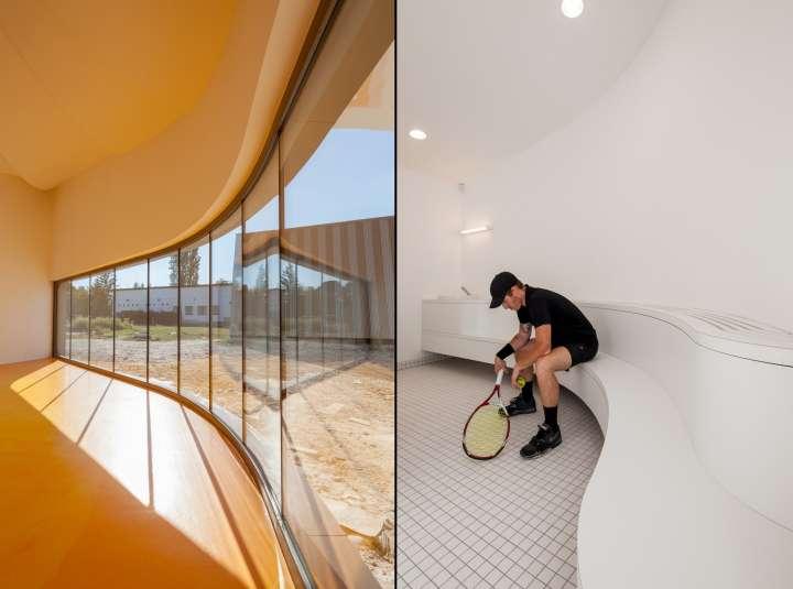 دکوراسیون داخلی فضاهای ورزشی