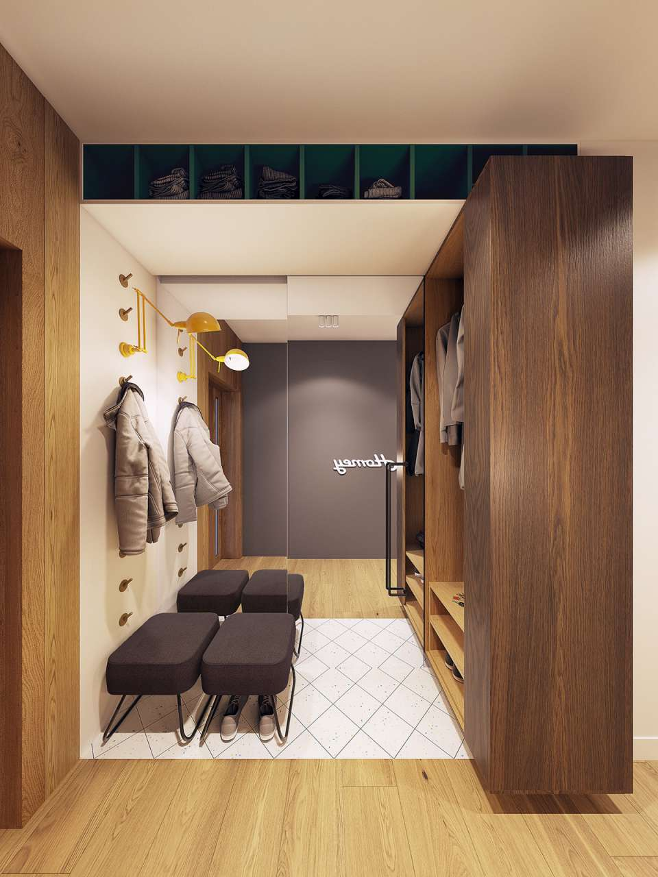 دکوراسیون داخلی آپارتمان 75 متری