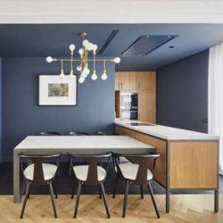 طراحی داخلی آپارتمان معاصر در اسپانیا