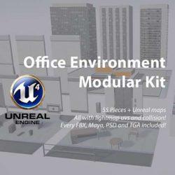 پروژه ریل تایم صحنه داخلی برای Unreal Engine