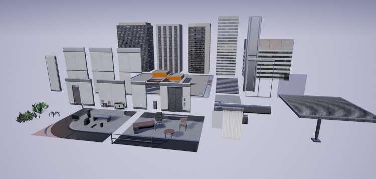 پروژه ریل تایم صحنه داخلی